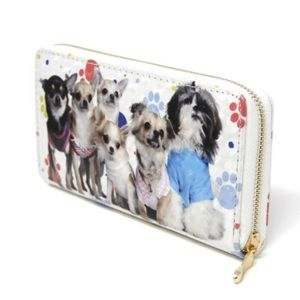 Chihuahua and Friends Fun Glitter Wallet!